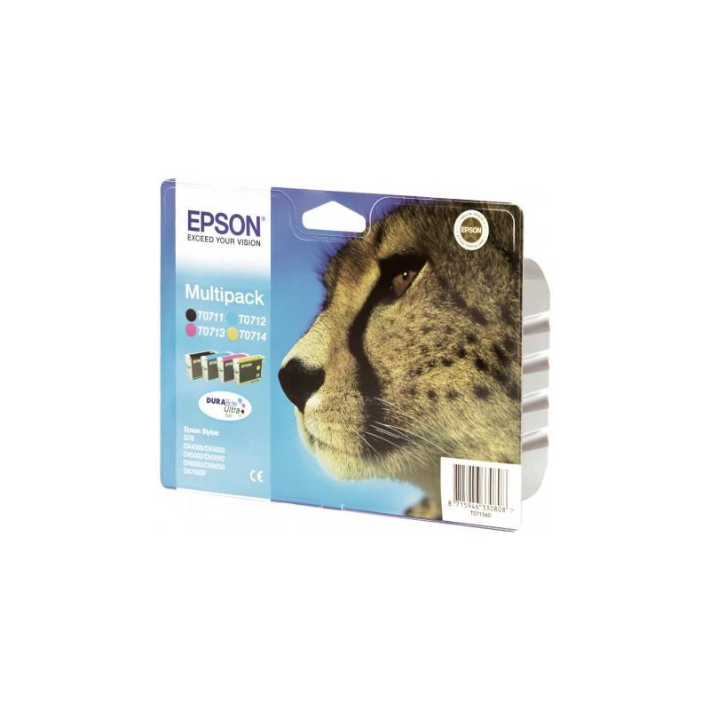 epson multipack gu pard t0715 encres durabrite ultra n c m j. Black Bedroom Furniture Sets. Home Design Ideas