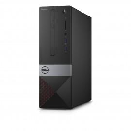 Vostro 3250 3.7GHz i3-6100 Petit ordinateur de bureau Noir PC