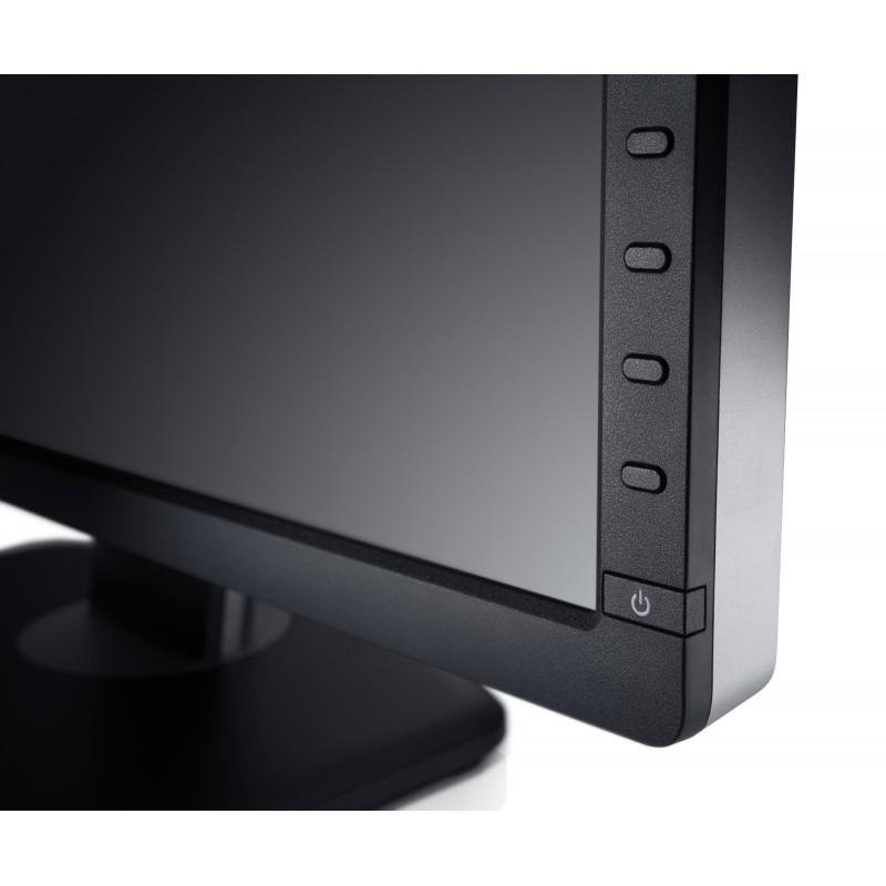 dell ultrasharp u2412m 24 full hd led noir cran plat de pc. Black Bedroom Furniture Sets. Home Design Ideas