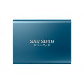 Samsung Disque Dur Externe SSD Portable T5 (500 Go) - MU-PA500B/EU Bleu