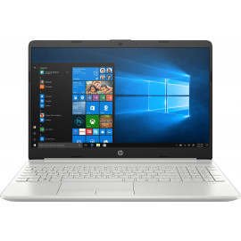 PC Portable 15-dw0051nf 15'' FHD Argent (Intel Core i3 8145U, RAM 4 Go, SSD 128 Go + 1 To Disque dur, Windows 10)